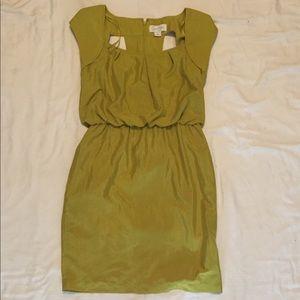Jessica Simpson Green Keyhole Back Dress Size 4